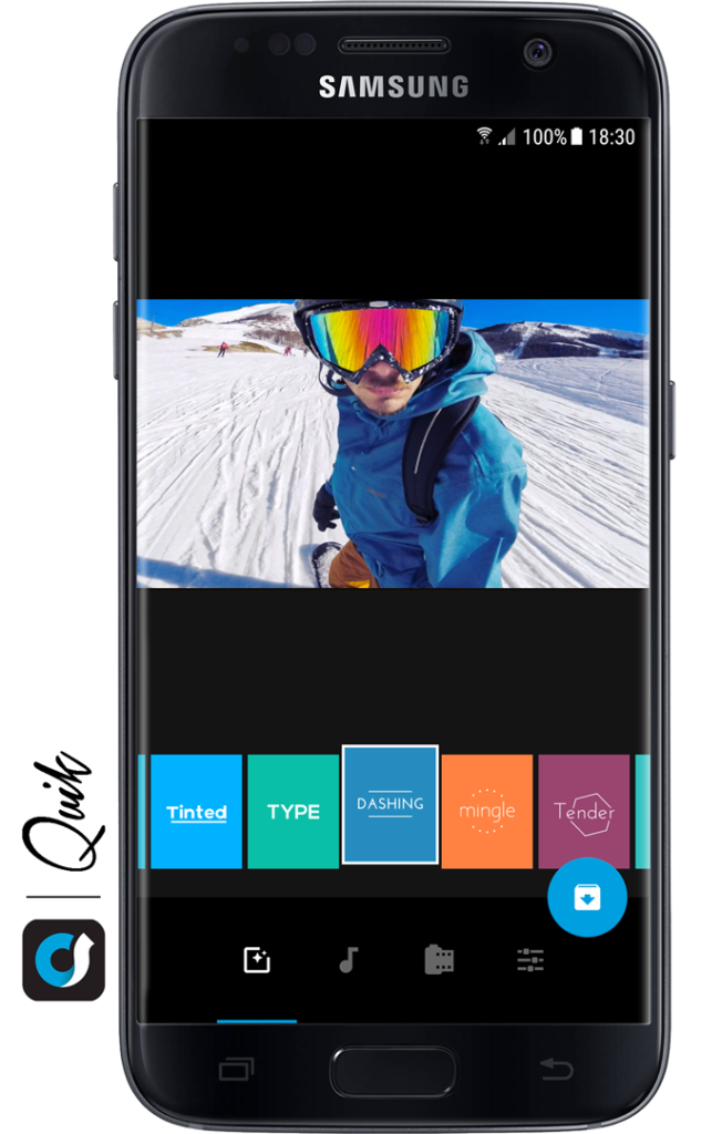 Quik Mobile GoPro App Video Editing Style