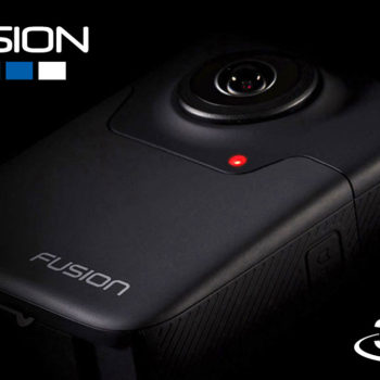 GoPro Fusion Videocamera 360 VR virtual reality