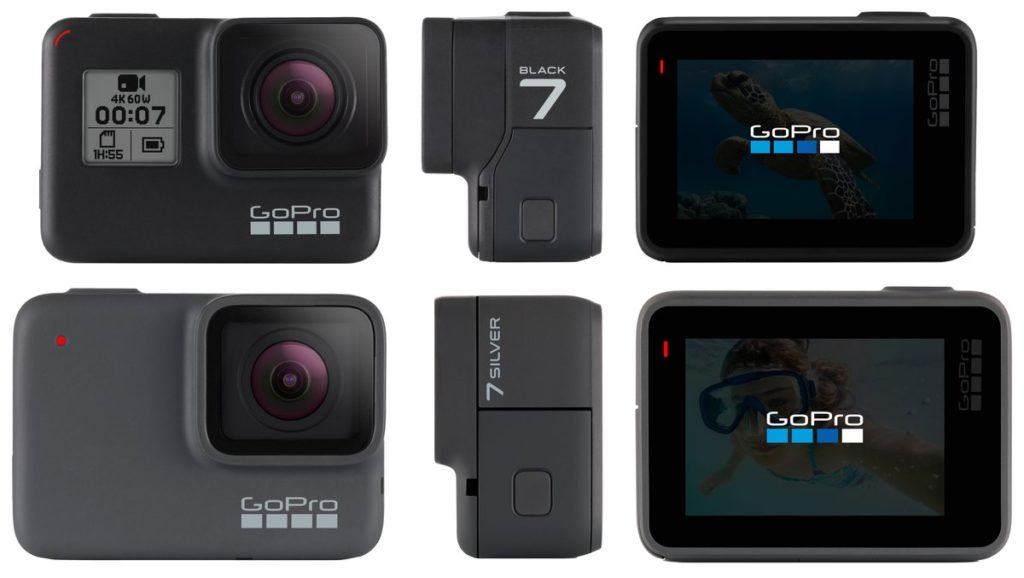Rumors Render Nuove GoPro HERO7 Silver e HERO7 Black